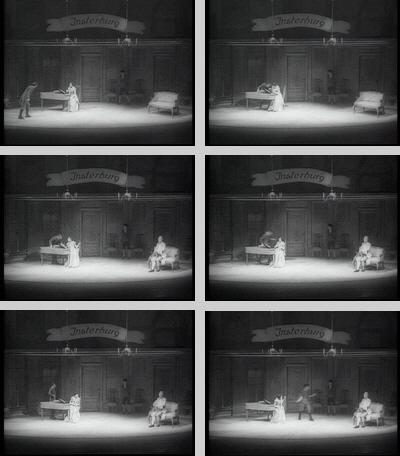 """Episches Theater, """"Der Hofmeister"""", Peter Voigt 1998"""