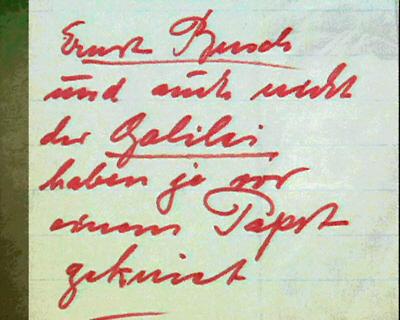 """""""Ich bin Ernst Busch"""", Peter Voigt, 2000"""